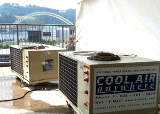 Portable AC Unit Rental